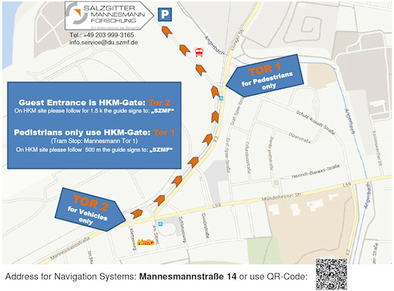 Salzgitter Mannesmann Forschung GmbH Maps